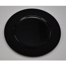 Black acrylic Plate Charger