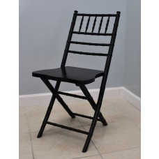 Black Chiavari Folding Chair