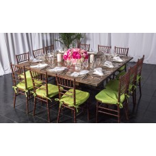 Square Tuscan Rustic Table