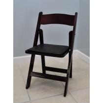 Mahogany Folding Chair