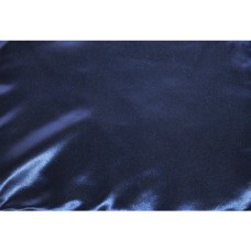 Navy Blue Satin
