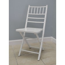White Chiavari Folding Chair