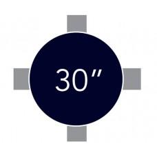 """30"""" Acrylic Highboy:"""