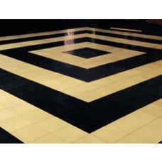 Black And White Stripe Dance Floor