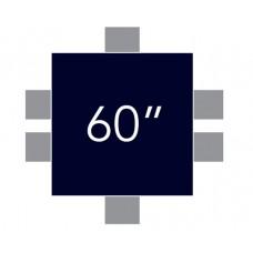 """Square 60"""" x 60"""""""
