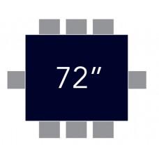 """72""""x72"""" Square"""